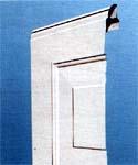LPU 40. Бытовые секционные автоматические гаражные ворота HORMANN. Панель одностенная.