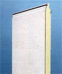 LPU 40. Бытовые секционные автоматические гаражные ворота HORMANN. Панель двойная теплая.