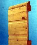 LPU 40. Бытовые секционные автоматические гаражные ворота HORMANN. Панель дерево.