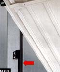Подъемно-поворотные гаражные ворота Berry фирмы HORMANN. Рама.