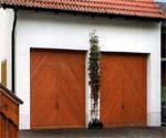 Подъемно-поворотные гаражные ворота Berry фирмы HORMANN.