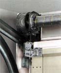 LPU 40. Бытовые секционные автоматические гаражные ворота HORMANN. Торсионный механизм.