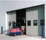 Автоматические откатные ворота HORMANN промышленного назначения.