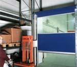 Автоматические быстроскручивающиеся ворота ворота HORMANN промышленного назначения.