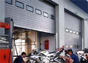 spu 40. Промышленные автоматические ворота с двойной стенкой.