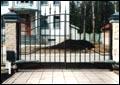 Въездные ворота. Распашные въездные ворота.