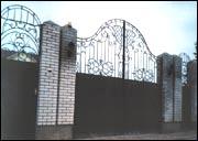 Въездные ворота. Автоматические распашные ворота.